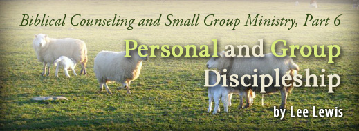 Biblical Counseling and Small Group Ministry Part 6