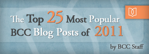 The Top 25 Most Popular Blog Posts of 2011