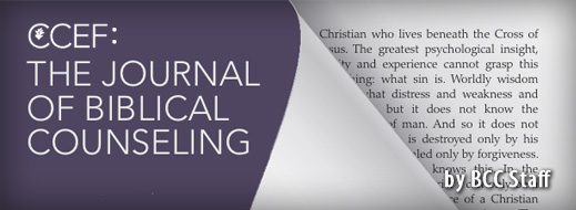 The Return of the Journal of Biblical Counseling