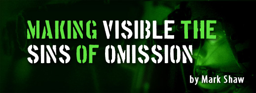 Making Visible the Sins of Omission