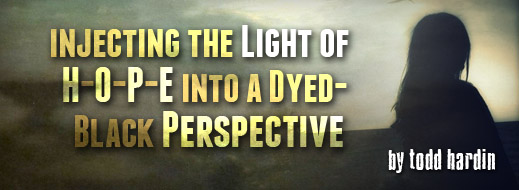 Depression Series - Injecting the Light of H-O-P-E into a Dyed-Black Perspective