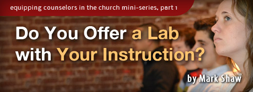 Equipping Counselors In The Church Mini Series Part 1