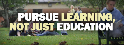 Pursue Learning, Not Just Education