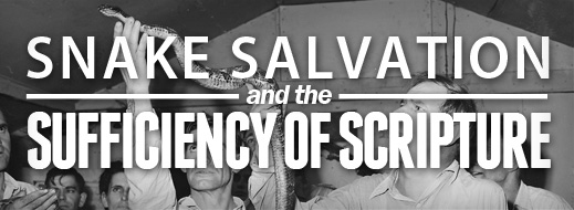 Snake Salvation and the Sufficiency of Scripture