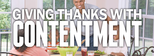 Giving Thanks with Contentment