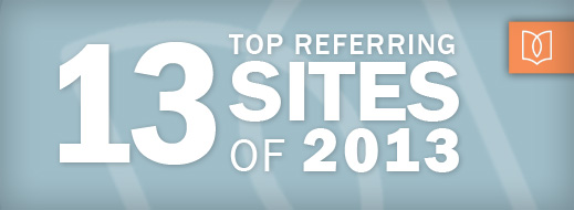13 Top Referring Sites of 2013
