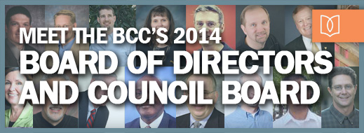 Meet the BCC's 2014 Board of Directors and Council Board