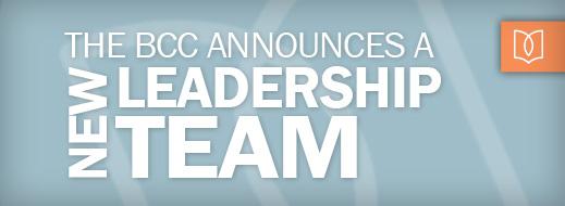 The BCC Announces a New Leadership Team