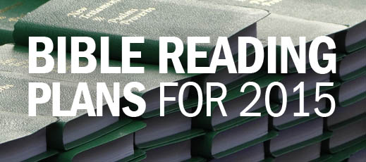 Bible Reading Plans for 2015