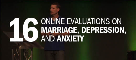 16 Online Evaluations on Marriage, Depression, and Anxiety
