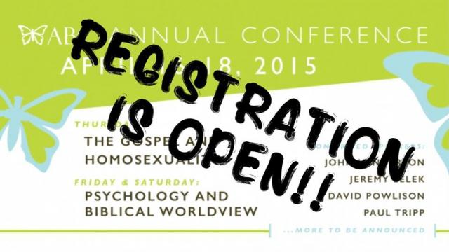 Psychology and a Biblical Worldview--The Association of Biblical Counselor's 2015 National Conference