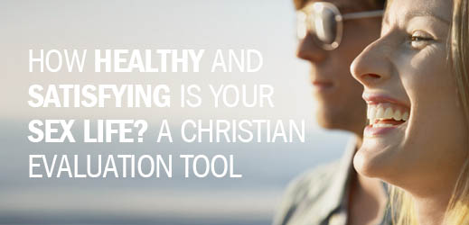 How Healthy and Satisfying Is Your Sex Life--A Christian Evaluation Tool