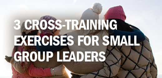 Biblical Counseling and Small Group Ministry--3 Cross-Training Exercises for Small Group Leaders
